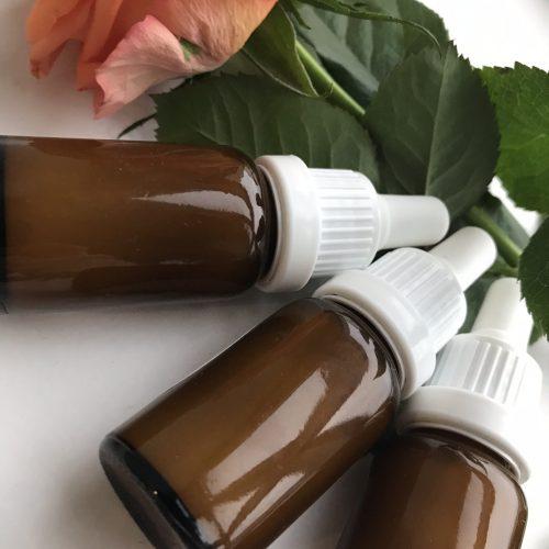 Poppy seeds oil face serum