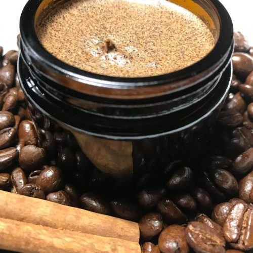 coffee cardamom body scrub