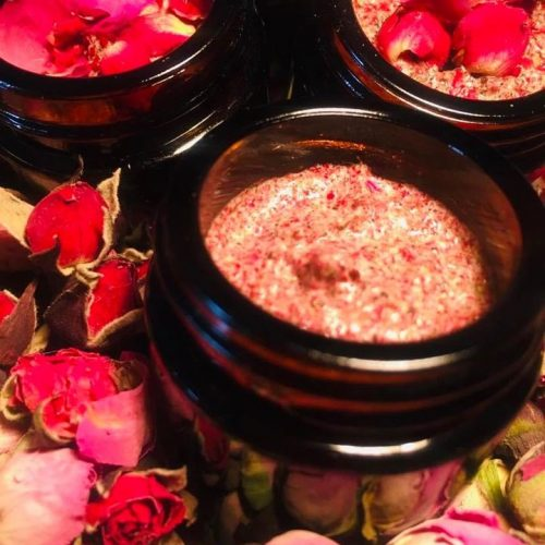 powdered rose petals scrub 30 ml