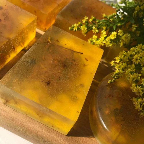 verbena lime soap